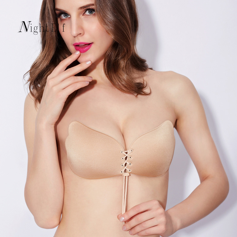 c96a44cdcc Home   Intimates   Bras   Night Elf sexy push up fly bra self adhesive  strapless ...