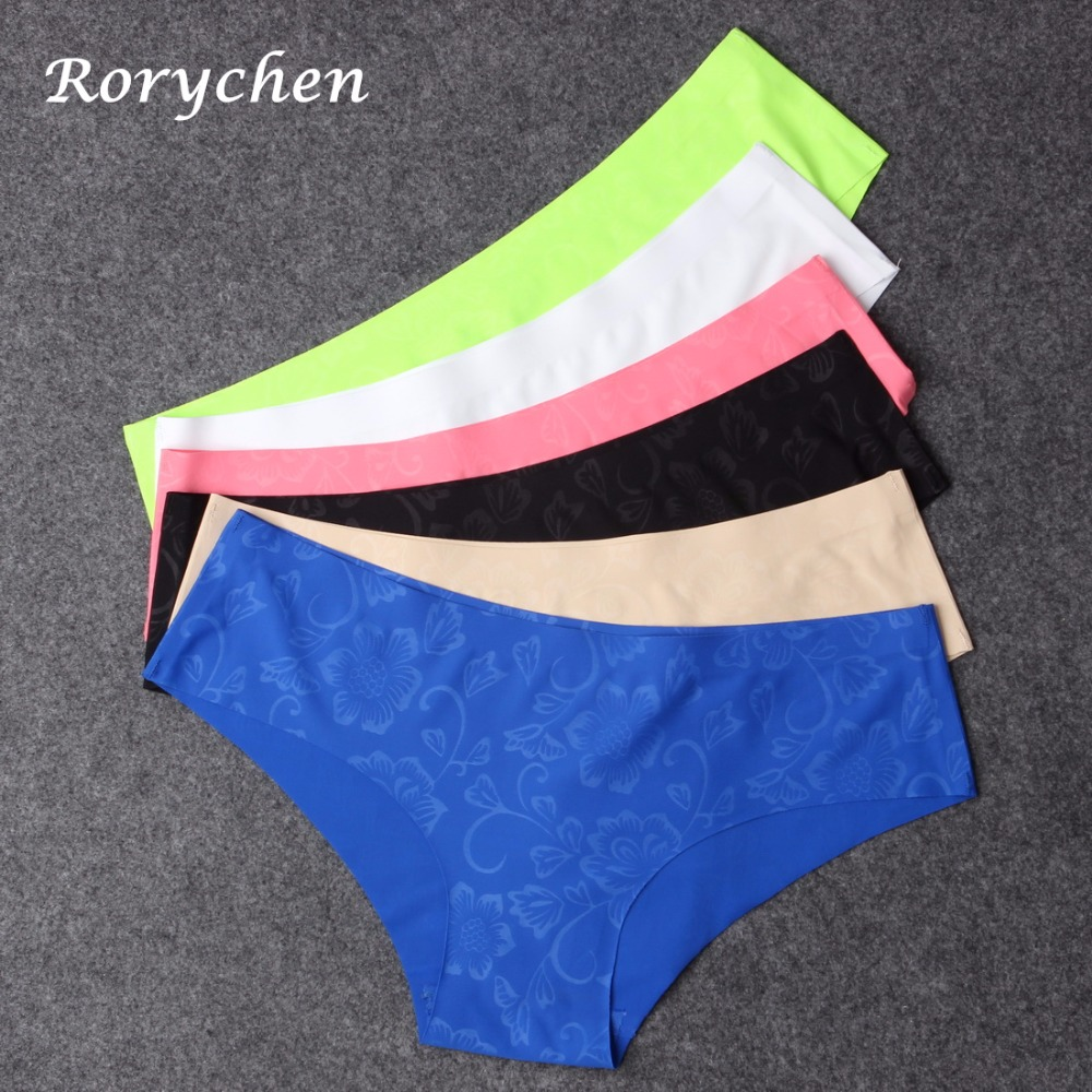 3837711a19 Home   Intimates   Panties   Rorychen Hot Sale Seamless Briefs Everyday Underwear  Women Panties Traceless Raw-cut ...