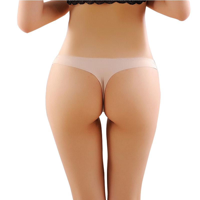 d6a227e23b01 Home / Intimates / Panties / 2017 Invisible Seamless Underwear Women Panties  ThongsNylon Spandex Crotch Thong Tanga Braga Panty Ropa Interior Mujer  Calcinha