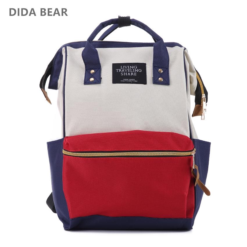 9d9bea3fd073 Sale! Home   Bag   Accessories   Backpack   DIDA BEAR Fashion Women  Backpacks Female Denim School ...