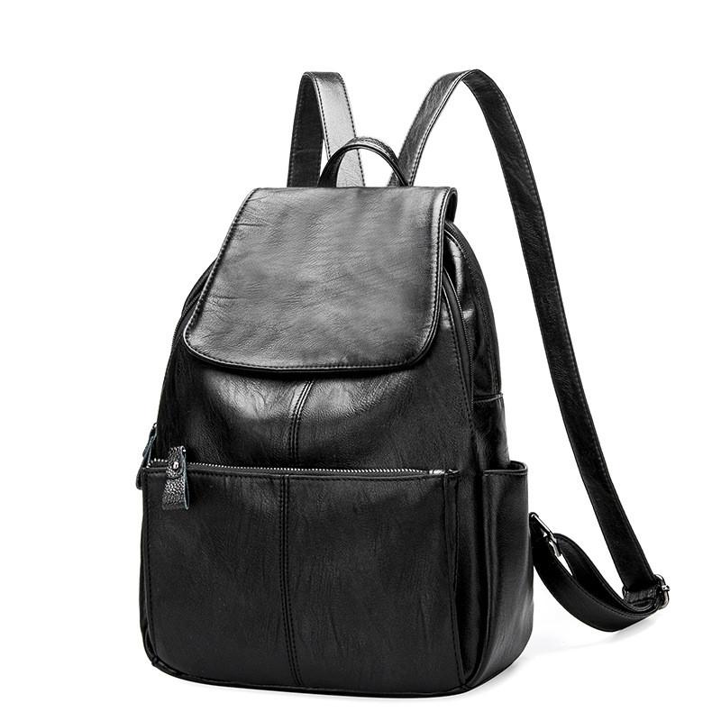 Designer Women S Backpacks Genuine Leather Female Backpack
