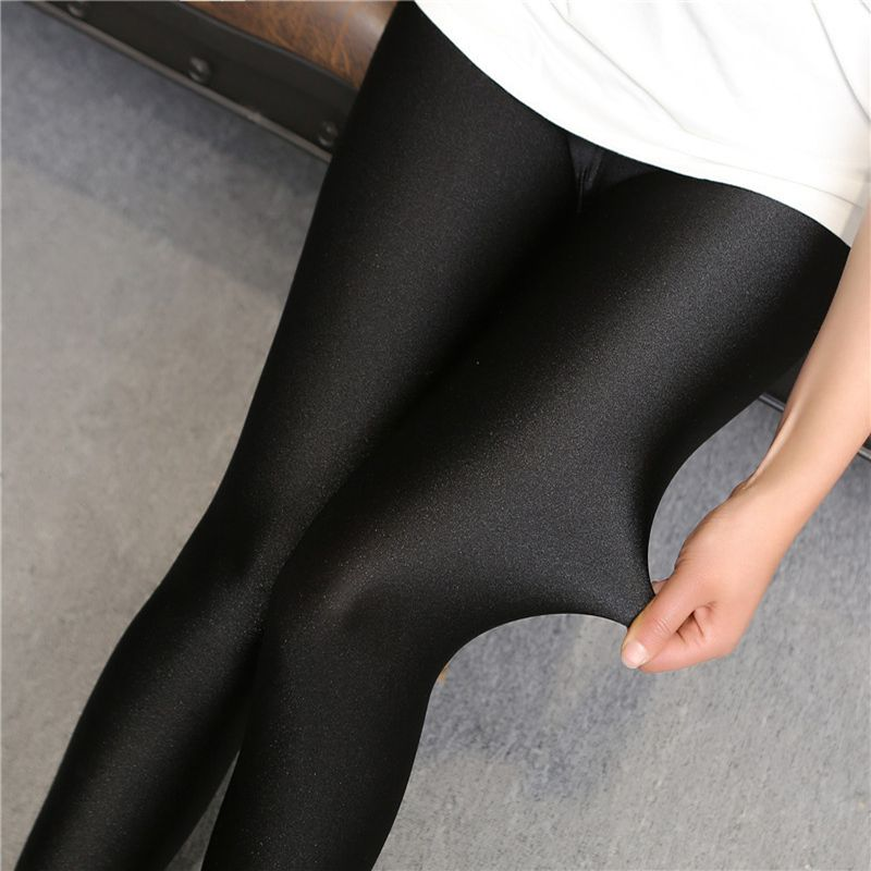 12ba2c373ffde Sale! Home / JEANS & LEGGINGS / Leggings / 2017 lady push up slim leggings  fashion new style hot shine legging girl black leggings summer autumn large  size ...
