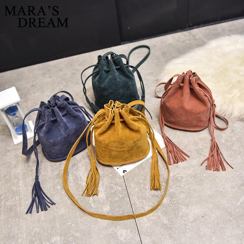 bb438e2bc8 Home   Bag   Accessories   Shoulder Bags   Mara s Dream Designer handbags  high quality Women Bag Messenger Bags New Handbag Tassel Bucket ...