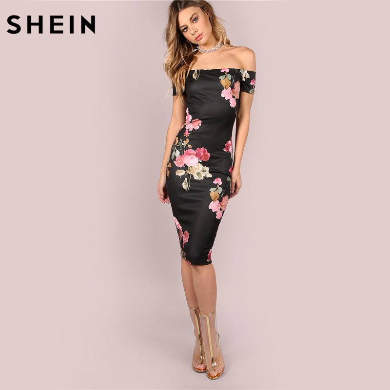 79e910350f Sale! Home / Blouse & Tops / Off Shoulder / SHEIN Sexy Party Dresses ...
