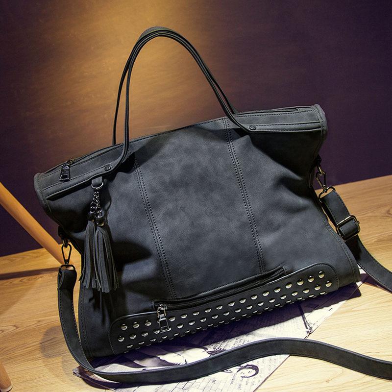 Black Rivet Purse Leather Best Image Ccdbb