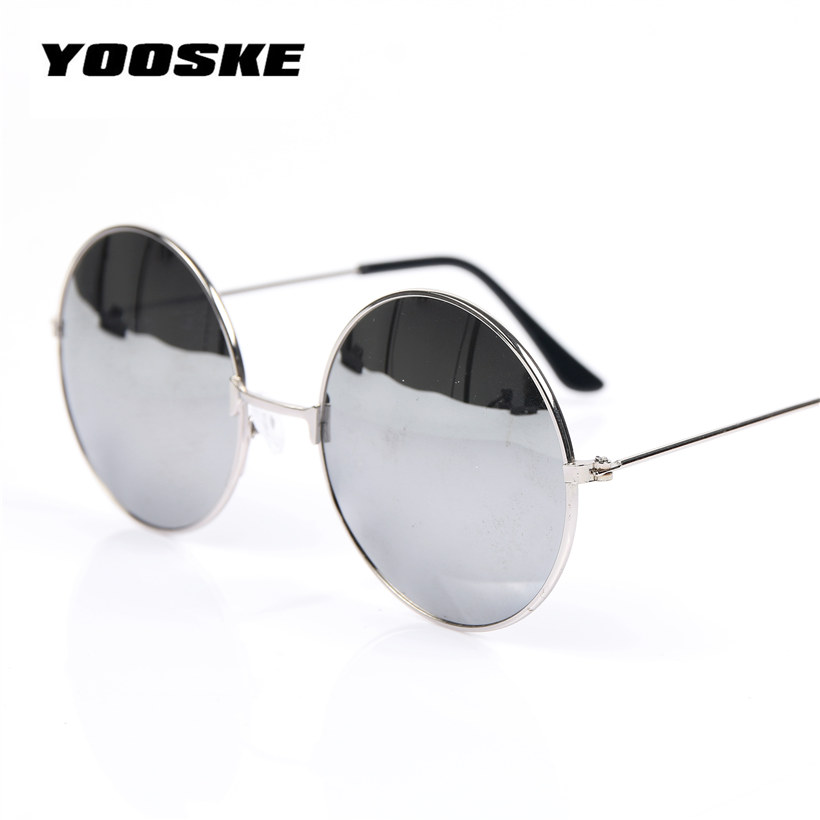 b2e239d8b3 Home   GLASSES   YOOSKE Vintage Round Sunglasses For Women Men Brand  Designer Mirrored Glasses Retro Female Male Sun ...