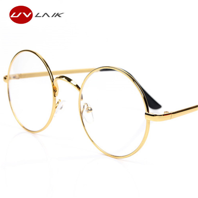 25a1c8dd9c Home   GLASSES   UVLAIK Round Spectacle Glasses Frames For Harry Potter  Glasses With Clear Glass Women Men Myopia Optical Transparent Glasses