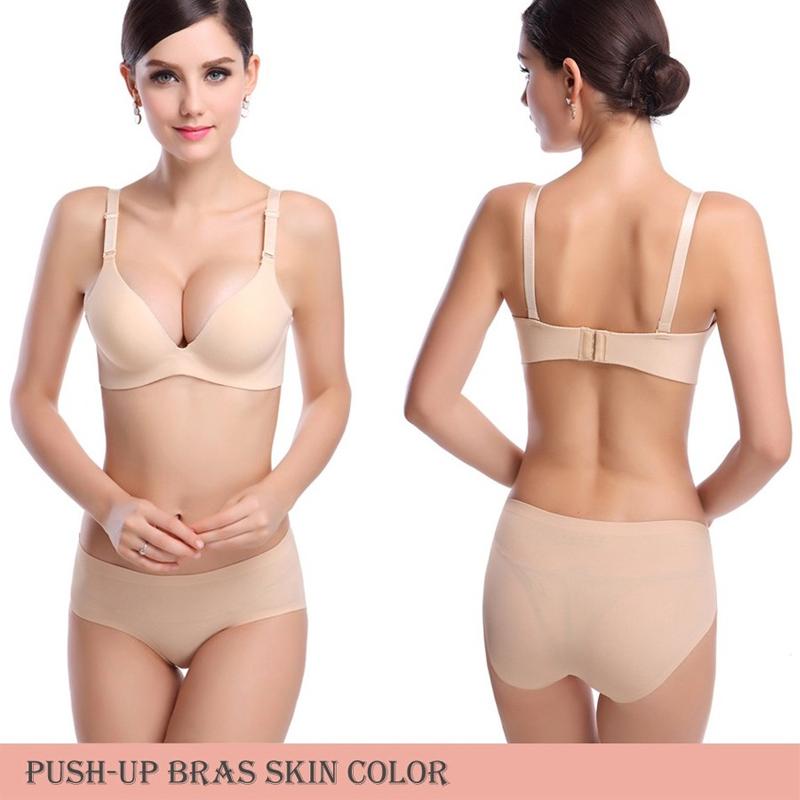2da197f88c Home   Intimates   Bras   DeRuiLaDy New Sexy Seamless Bra Gather Adjustable  Women Bra Seamless Underwear Push Up Bra Brand Support Wholesale ...