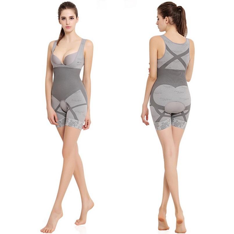 e9d8cc7ab4d 1pc Bodysuit Women Charcoal Sculpting Underwear