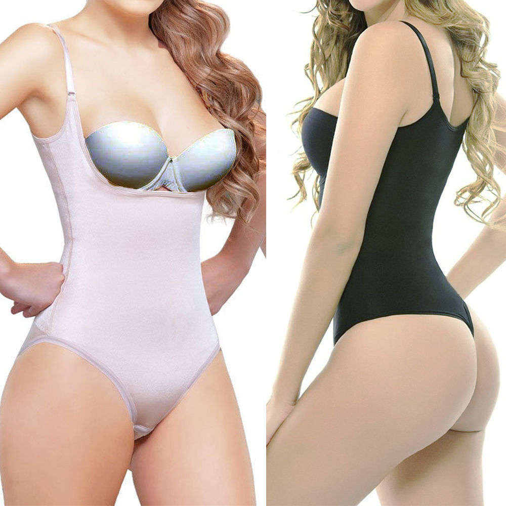 7945e0e50e Miss Moly Women Full Body Shaper Waist Cincher Underbust Thong Corset  Bodysuit Jumpsuit Shapewear Seamless Pants Corset Brefs - My Off Shoulder