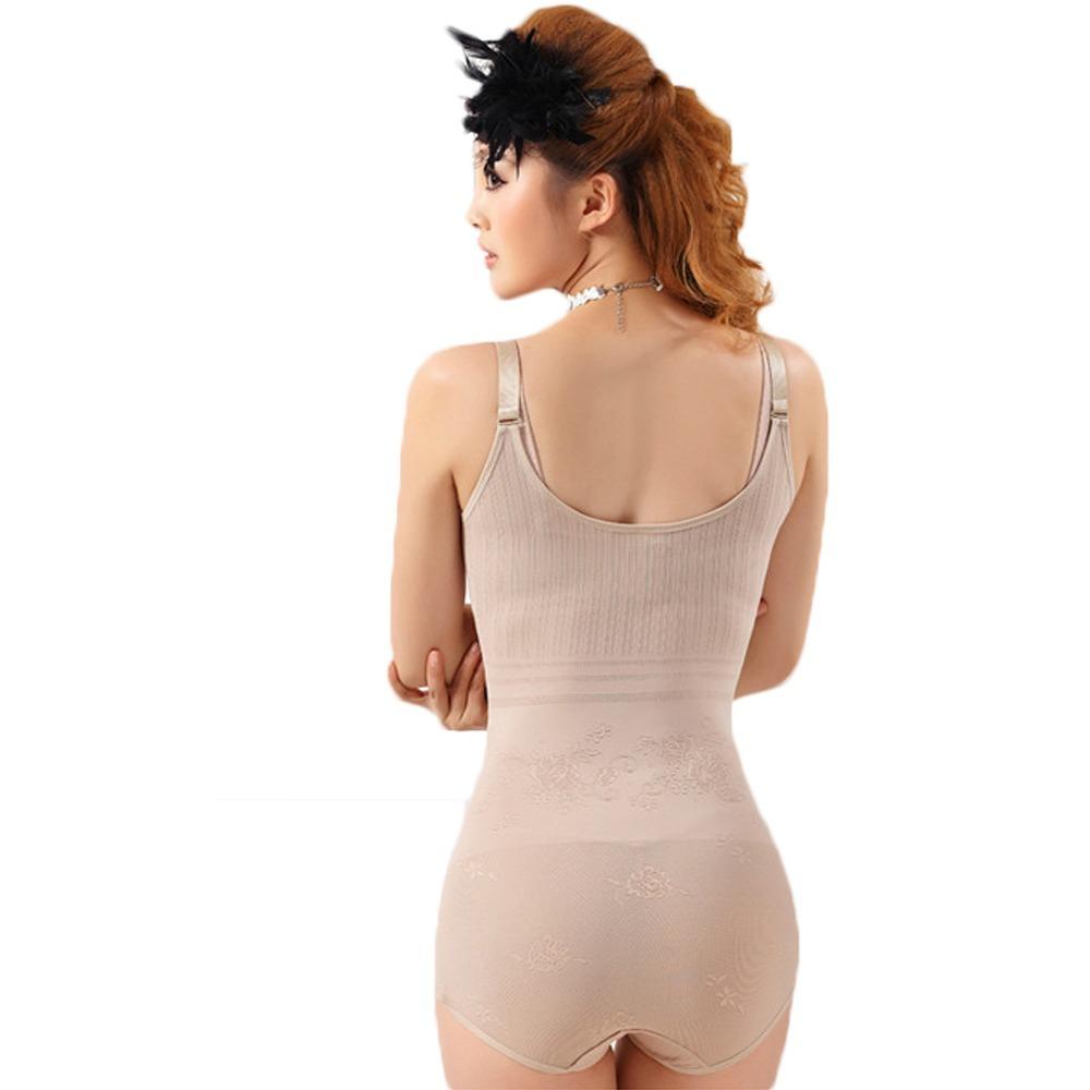 7d805c1cef5 Home   Intimates   Body Shaper   Women Floral Body Bodysuits Body Shaper  Slimming Underwear ...