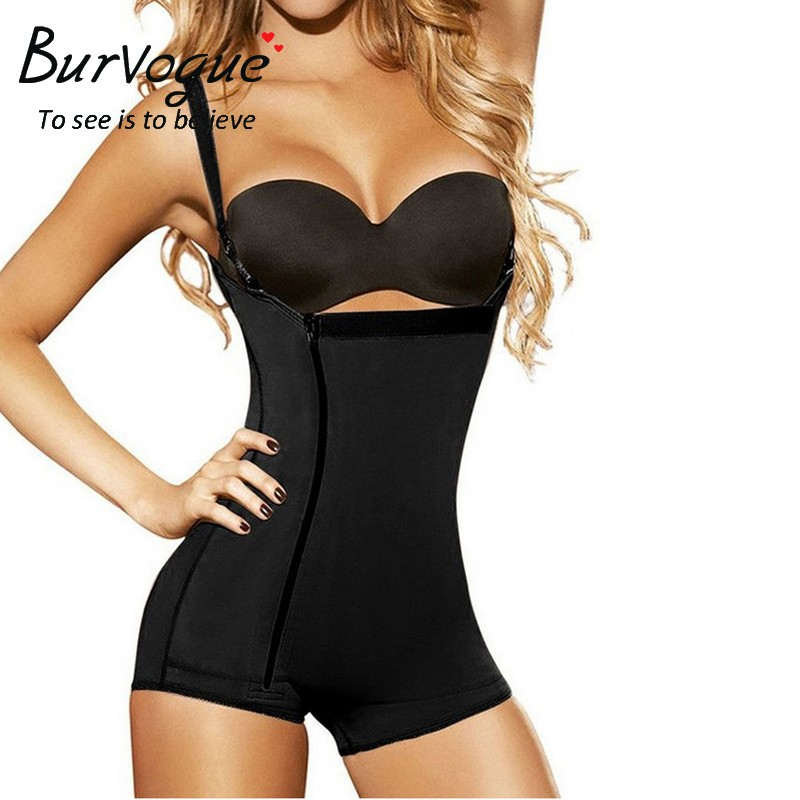 fe26f2074c Sale! Home   Intimates   Body Shaper   Burvogue Clips or Zip Full Body  Shaper Women Waist Trainer Slimming Shapewear Butt Lifter Tummy Control ...