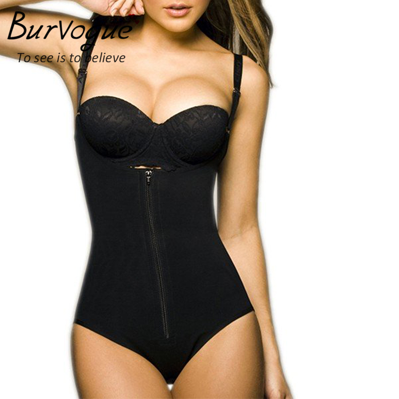 465ba53fcb3 Sale! Home   Intimates   Body Shaper   Burvogue Clips or Zip Full Body  Shaper Women Waist Trainer Slimming Shapewear Butt Lifter Tummy Control ...