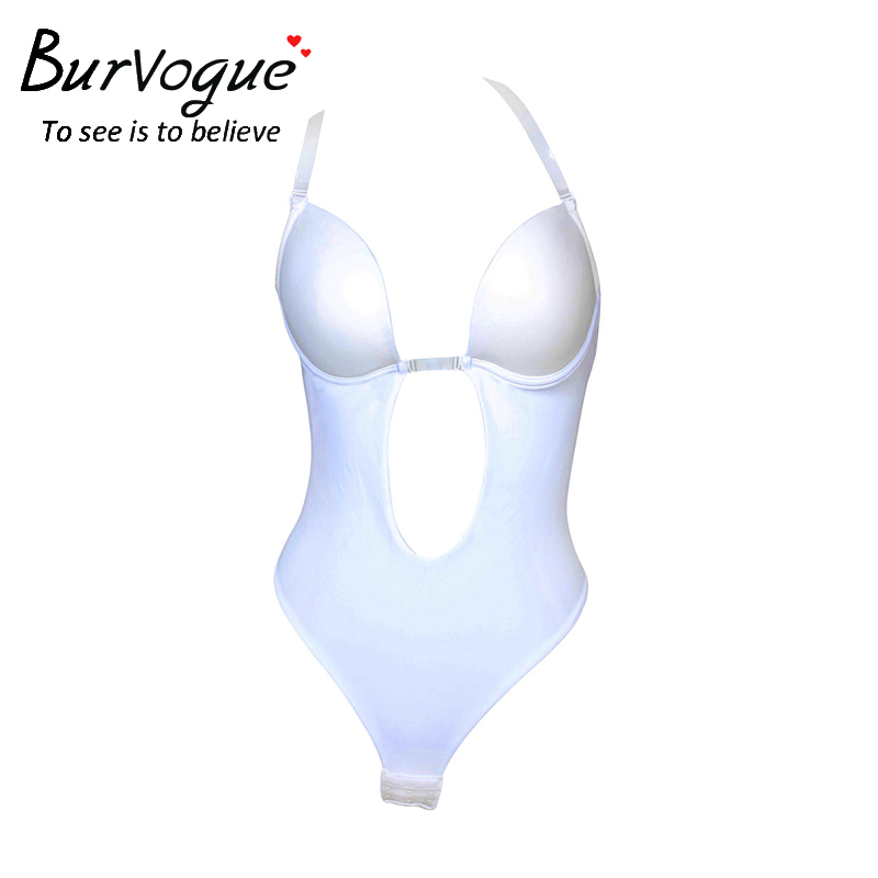 7f98267c7a Sale! Home   Intimates   Body Shaper   Burvogue NEW Sexy Women Backless  Shapewear Deep Plunge Body Shaper Invisible Underwear for Dress Clear Strap  Bodysuit ...