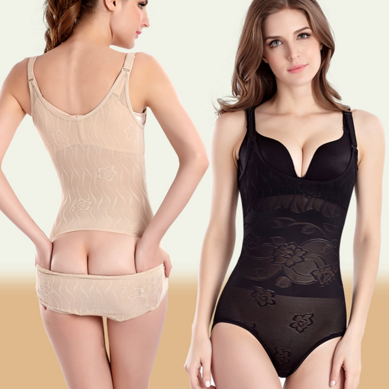3928eb57336f0 Sale! Home   Intimates   Body Shaper   Sexy Women Bodysuits Slimming Suit  Underwear Body Shaper Waist Cincher Waist Corsets Shapewear Tummy Control  ...