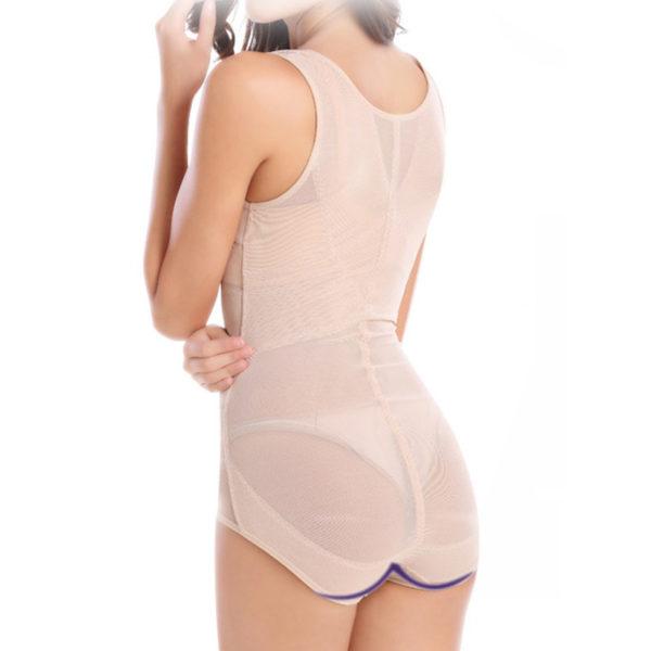 d677d158137 Sale! Home   Intimates   Body Shaper   MUKATU Women Sexy Siamese Corset  Postpartum Thin Waist Slimming Underwear Bodysuit High Elastic ...