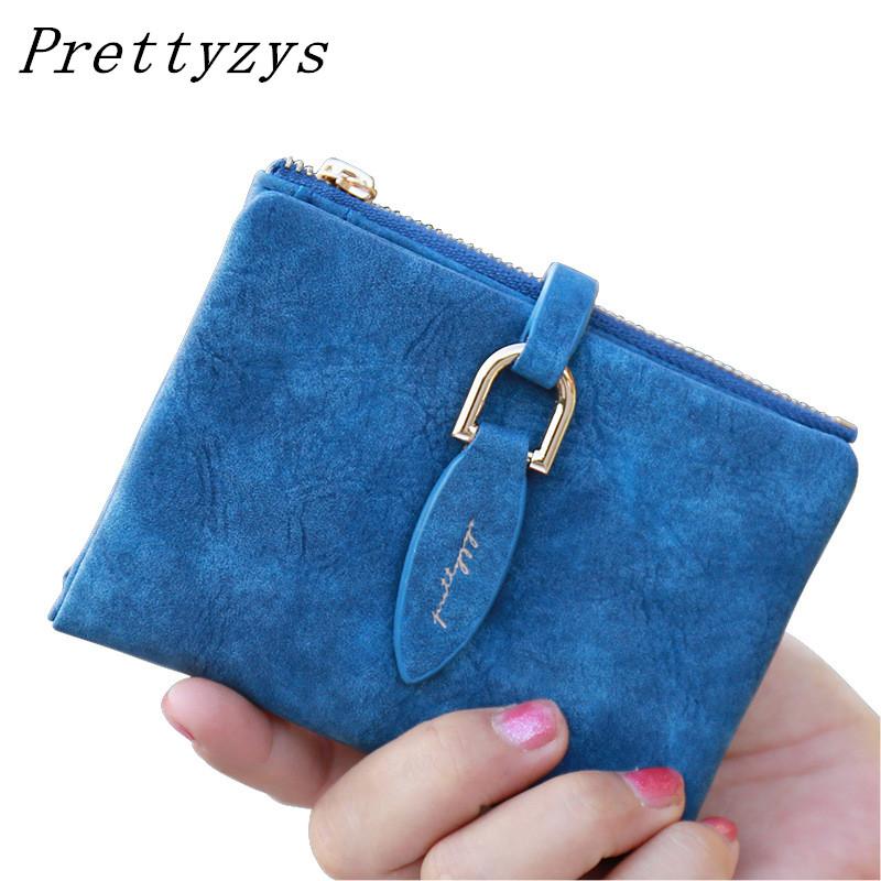 c88d30d85c9 Sale! Home / Bag & Accessories / Clutch / Prettyzys Lady Snap Fastener  Short Clutch Wallet Vintage Matte Women Wallet Fashion Small Female ...