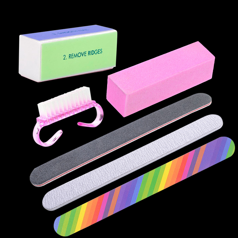 Belen Set For Nail Manicure Kit Nail Files Brush Durable Buffing ...
