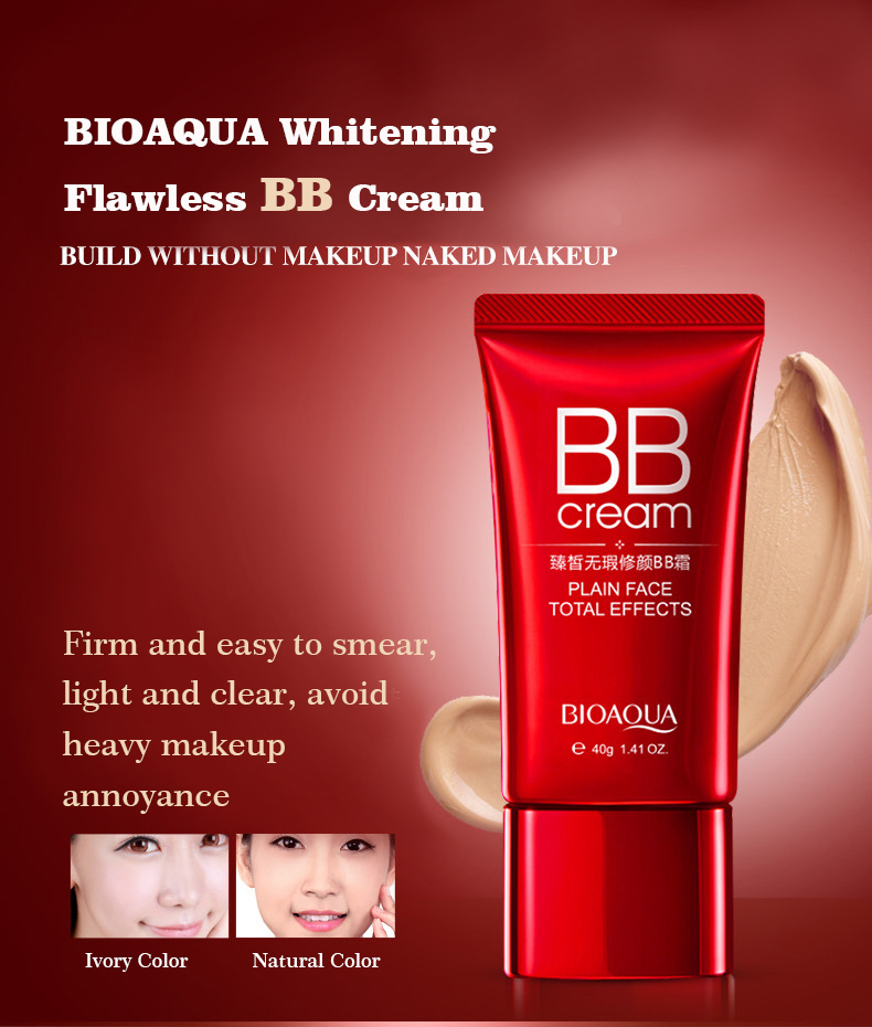 Home / Makeup & Beauty / Creams & Moisturizers / BIOAQUA Fresh Nude Make-up BB Cream ...