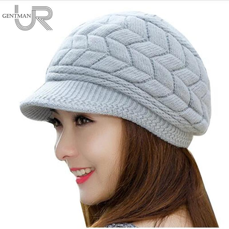1447eba02f6 Home   Winter   Caps   New Women Winter Hat Warm Beanies Fleece Inside ...