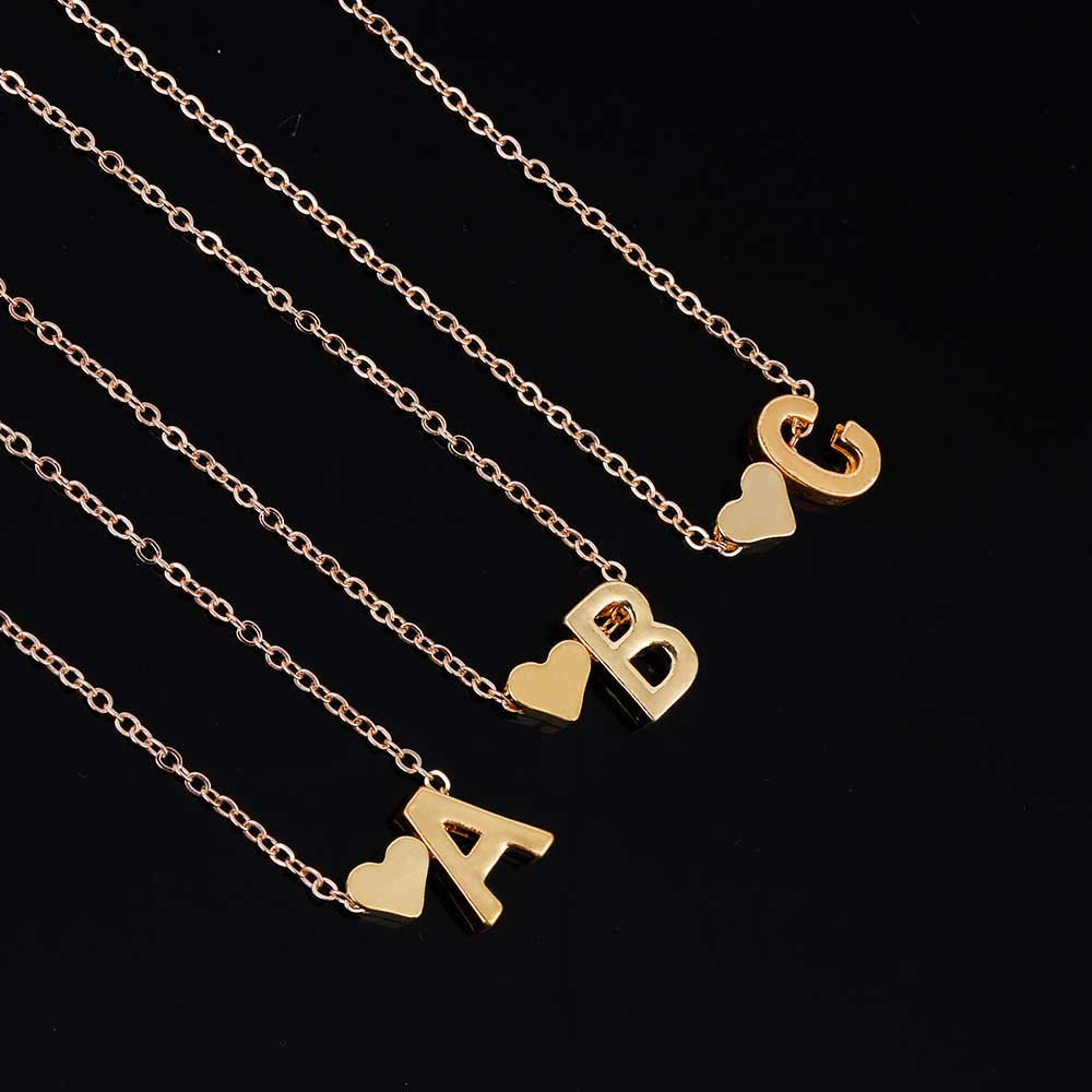 collections alphabet personalized cubic w pendant letter necklace products zirconia charm